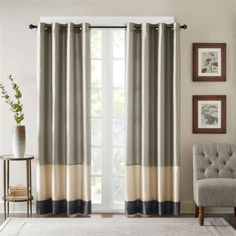1000 ideas about color block curtains on pinterest