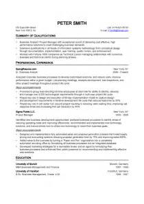 professional resume sles doc quality analyst resume doc