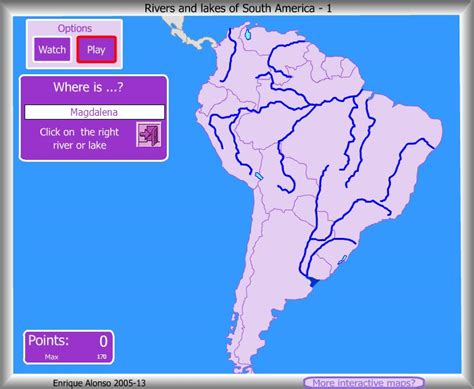 south america map rivers rivers lakes of south america where is enrique alonso