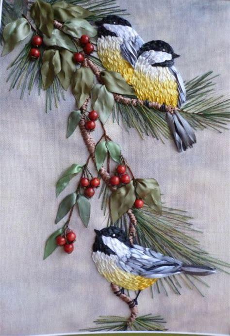 ribbon embroidery crafts pinterest beautiful