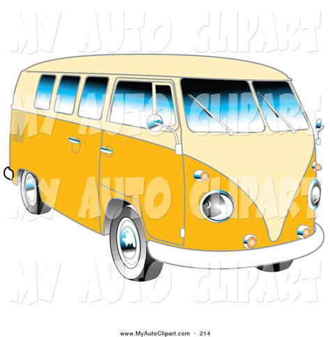 new volkswagen bus yellow vw bus clipart cliparts galleries