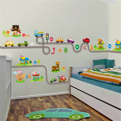 Race Track Wall Stickers