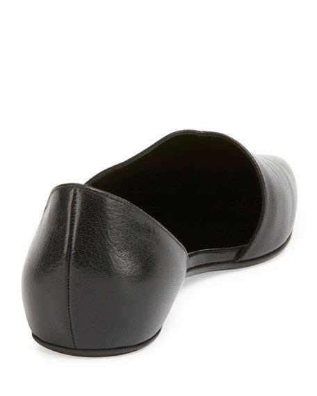 Arlaine Mirage Flat Shoes Black hardy mirage half d orsay ballerina flat black