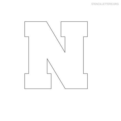 stencil letters n printable free n stencils stencil