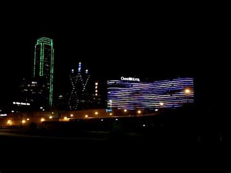 omni hotel light show dallas