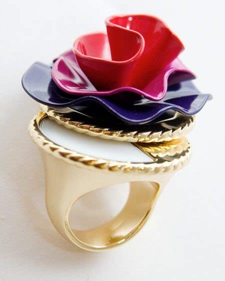 Simply Fab Marc Solid Perfume Ring by The Daily Perfume Cocktail Ring 49 Fashion Magazine