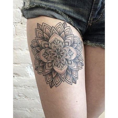 tattoo quebec meilleur id 233 e tatouage une rosace sur la cuisse les 40 plus