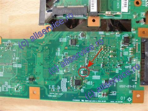 reset bios lenovo y450 ibm t410 eeprom el mundo de la tecnologia