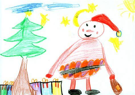 Gemalte Bilder Kindern by Kinder Weihnachtsbilder Moz De