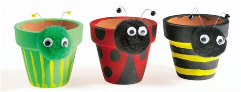 Mothers Day Gift Ideas by How To Make Painted Plant Pots Hobbycraft Blog