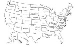 50 States Map by Map Of America 50 States America Map