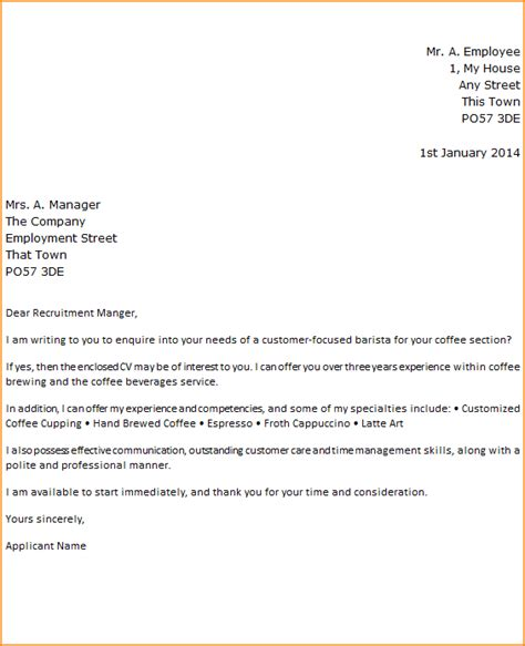 10 application cover page basic appication letter