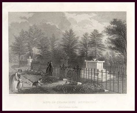 Cambridge Ma Marriage Records Plan Of Mount Auburn Cemetery In Cambridge Massachusetts 1831
