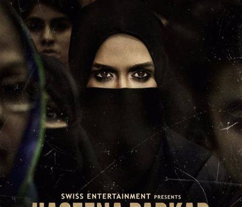 biography of haseena parkar haseena parkar new poster shraddha kapoor eyes look
