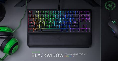 Razer Blackwidow Tournament V2 Chroma Orange Switch mechanical gaming keyboard razer blackwidow tournament