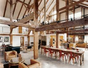Barn House Interior Design Girl Az Another Great Space Turned Into A Home