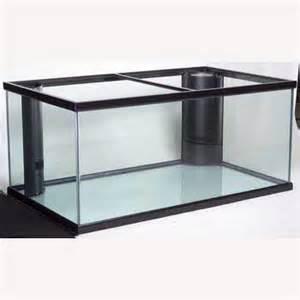 "Perfecto 200 Gallon 48""Lx36""Wx27""H Deep Starphire Overflow Glass Fish"