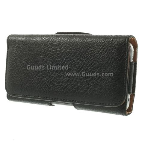 Horizontal Beltclip Leather Pouch Size Sai 4 7 Inch Kantong Hp litchi pattern horizontal leather pouch for iphone 6 4 7 inch with belt buckle leather