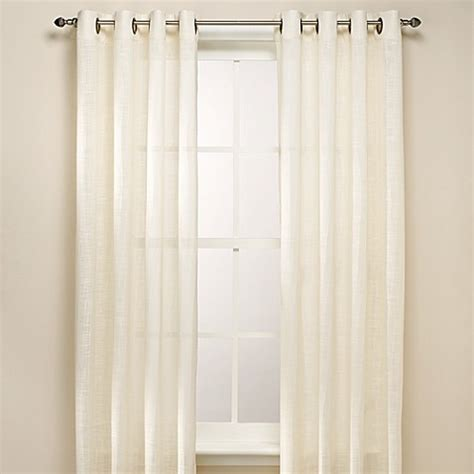 bed bath and beyond curtain panels b smith origami grommet window curtain panels bed bath
