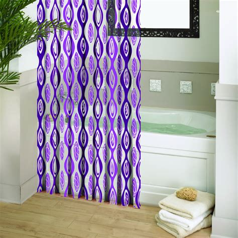 purple shower curtains purple shower curtains design ideas chic plus images and