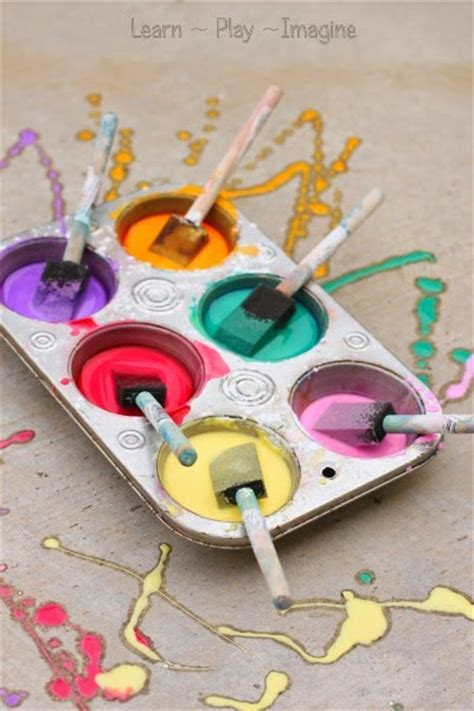 chalk paint recipe uk paint recipes safe for babies and toddlers