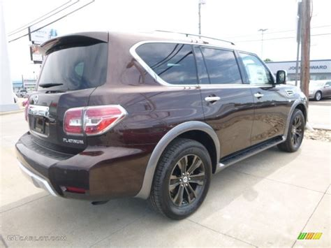 2017 mocha almond nissan armada platinum 4x4 115591205 photo 9 gtcarlot car color