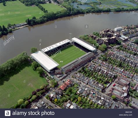 fulham craven cottage aerial photograph of fulham football club craven cottage