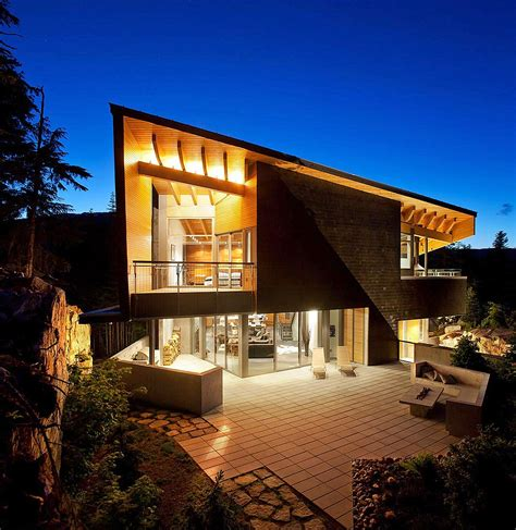 chalet style whistler residence modern chalet canadian style faustian urge