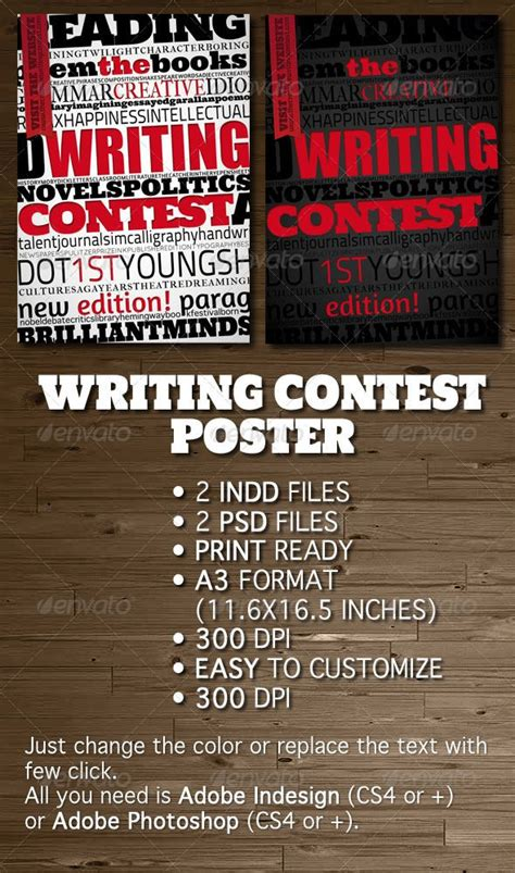 competition flyer template free writing contest poster flyer flyer template flyer