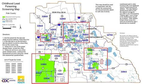 map of lakeland fl county screening maps florida department of health