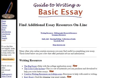 Guide To Writing A Basic Essay 21 tools and resources for academic essay writing