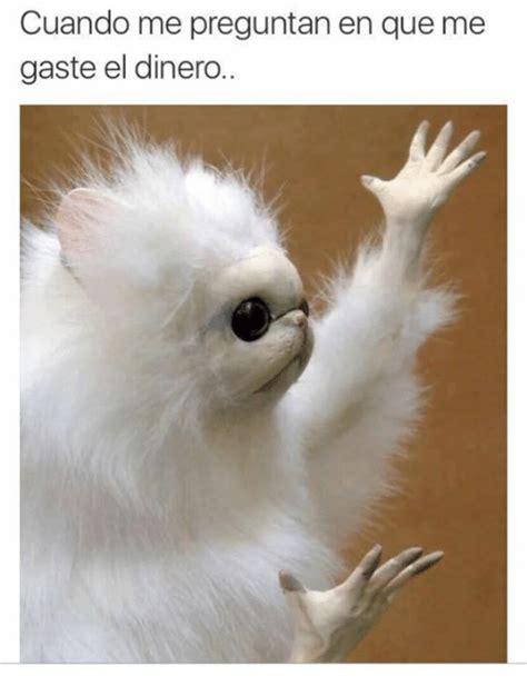cuando me converti en 8467861509 cuando me preguntan en que me gaste el dinero espanol meme on sizzle