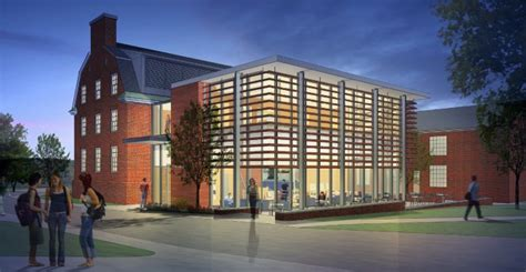 colby college floor plans construction of center for postgraduate success to begin