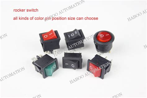 Saklar Switch Medium 3 Pin 2 Per 6pins 2positions light switch rocker switch on 250v 3
