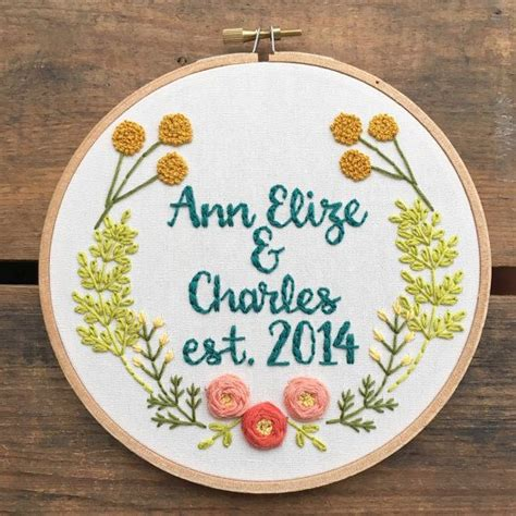 embroidery wedding 25 best ideas about wedding embroidery on