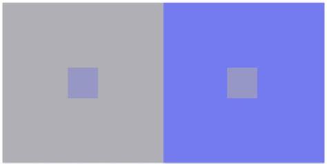 color illusion color saturation illusion an optical illusion