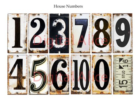 free printable vintage numbers old rusty number craft circles vintage licence plate