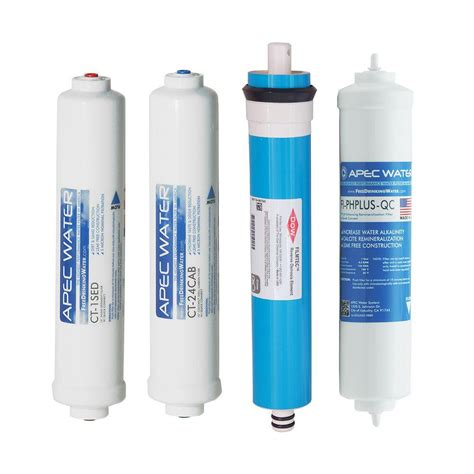 Countertop Osmosis Filter by Apec Water Systems Apec Complete Filter Set For Ultimate