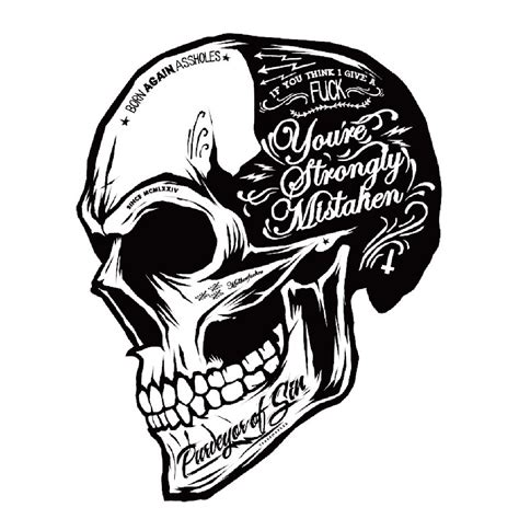 Coole Motorrad Sticker by Black White Skull Cool Motorcycle Stickers Moto Decals