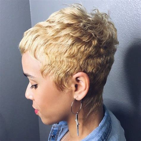 captivating african american short hairstyles