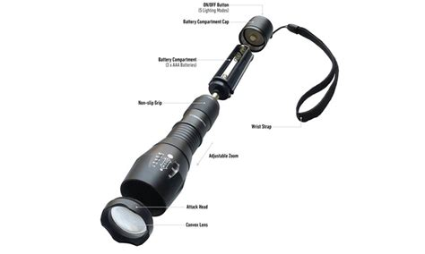 how many lumens is bell and howell tac light up to 71 off on bell and howell led flashlight groupon