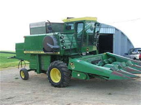 Used Farm Tractors For Sale John Deere 4400 Combine Nice