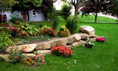 Large Front Yard Landscaping Ideas Pictures 5 Of 10 Amazing Landscaping Plans With Rock Ideas Wall And Rocks Plus