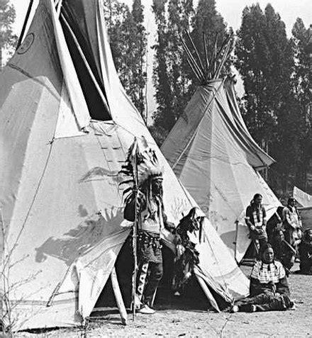 tenda per cer usata le abitazioni degli indiani www farwest it