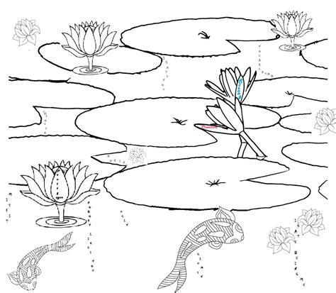 fish habitat coloring pages printable pond habitat coloring page ponds pinterest