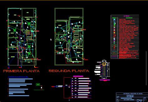 family housing  levels wiring plan diagram