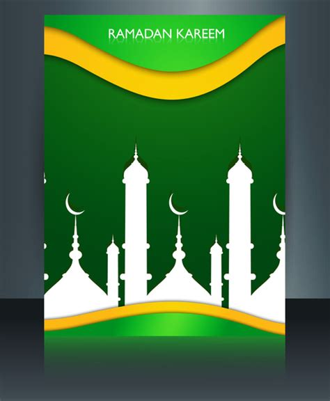 arabic poster design vector vector illustration arabic islamic template brochure