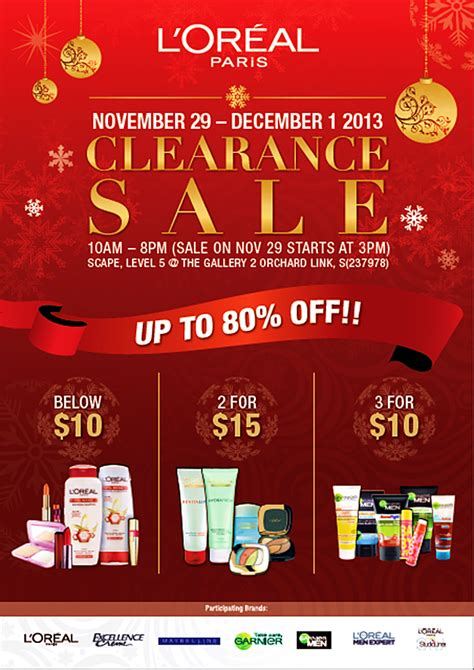 Clearance Sale L Oreal Lipstik Stok Terbatas l or 233 al clearance sale 2013 scape orchard cosmetics skin care products below 10 more