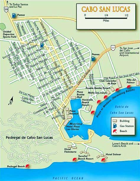 map of cabo san lucas cabo san lucas mexico map