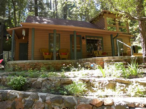 Sedona Az Cabin Rentals by Side View